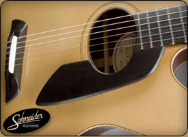 handmade acoustic guitars custom built - The Rosewood Classical Flattop