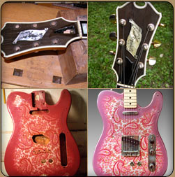 restoration and repair of electric guitars