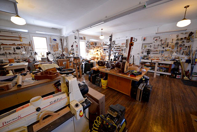 Dave's Guitar Workshop - Another View