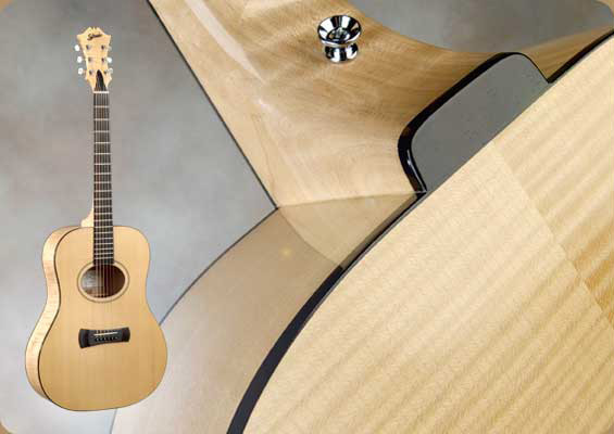 Dreadnought handmade acoustic guitar